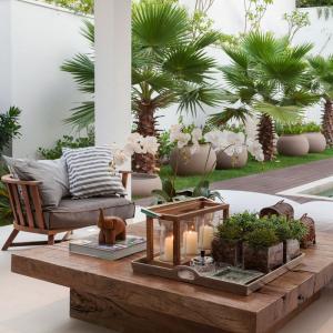 عکس - میزهای چوبی که طبیعت را به خانه شما می آورند.