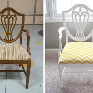 عکس - با صندلی های قدیمی خود چه کنیم ؟