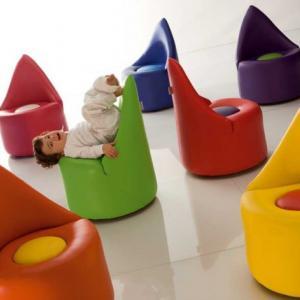 عکس - صندلیهایی با طراحی خاص برای کودکان