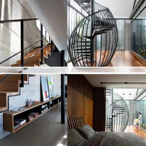 تصویر - نرده هایی با طراحی خاص و زیبا - معماری