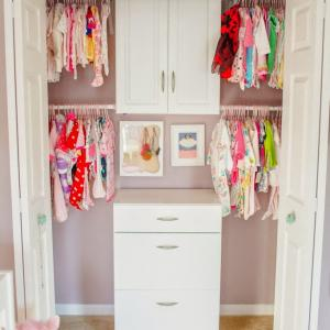 عکس - 7 ایده عالی برای چیدن و مرتب کردن اتاق کودک