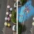 عکس - تصاویر هنری که تنها پس از باران در سئول خواهید دید.