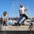 عکس - سطل آشغال شناوری که اقیانوس را تمیز می کند.