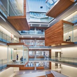 عکس - مرکز تحقیقات موسسه Allen ، اثر مشترک تیم طراحی perkins و will، آمریکا