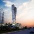 عکس - طرح های پیشنهادی برج های دو قلوی مهر و ماه مشهد