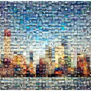 تصویر - ایده هایی برای کلاژ عکس بر روی دیوار - معماری