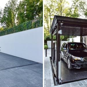 عکس - خلاقیت در طراحی پارکینگ مخفی