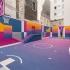 عکس - بازطراحی زمین بسکتبال Rue Duperre , اثر استودیو Ill-Studio , پاریس