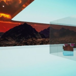 عکس - خانه مجازی مریخ (Mars House) ، نخستین خانه NFT دیجیتال ، اثر Krista Kim