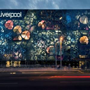 عکس - خلق نمای عمیق در مرکز خرید Liverpool , اثر تیم معماری Rojkind Arquitectos , مکزیک
