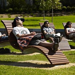 عکس - طراحی فضای باز پردیس دانشگاهی Darlington سیدنی
