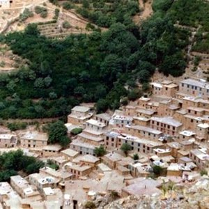 عکس - روستای هجیج با معماری استثنایی
