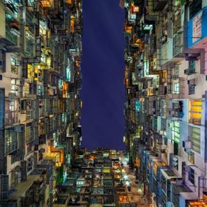 عکس - طراحی شهری هنگ کنگ از دریچه دوربین