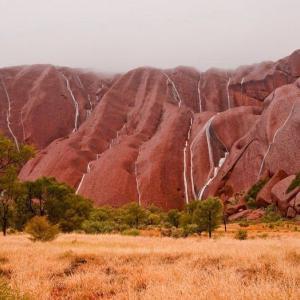 عکس - آبشاری بی نظیر در استرالیا
