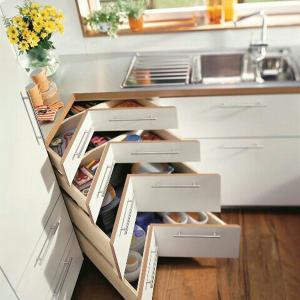 عکس - 18راهکار خلاقانه برای ذخیره سازی لوازم در آشپزخانه