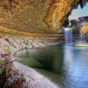 تصویر - استخر همیلتون؛ جاذبه طبیعی ایالت تگزاس - معماری