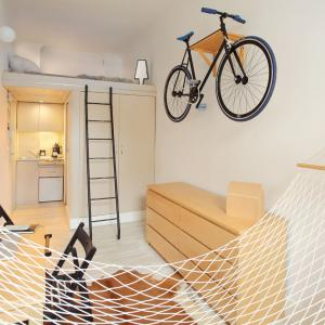 عکس - آپارتمان کوچک باورنکردنی
