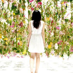 عکس - شگفت انگیز ترین باغ گل معلق اثر TEAMLAB