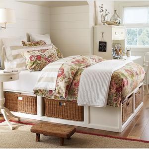 عکس - ایده های هوشمندانه برای استفاده بهینه از مبلمان اتاق خواب