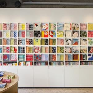 عکس - طراحی فروشگاه منسوجات