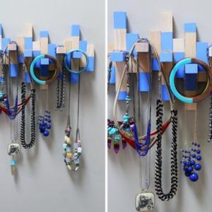 عکس - ایده های شگفت انگیز برای سازماندهی جواهرات