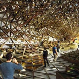 تصویر - پاویون ایران در اکسپو میلان 2015 - معماری