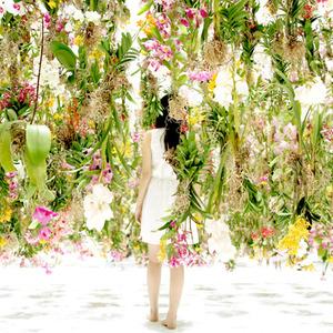 تصویر - شگفت انگیز ترین باغ گل معلق اثر TEAMLAB - معماری