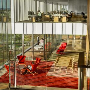 عکس - ساختمان 335 دانشگاه Novartis اثر Weiss-Manfredi