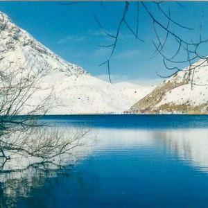 عکس - دریاچه زیبای گهر، نگین زاگرس