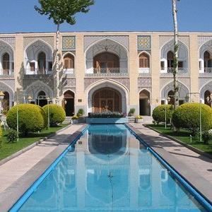 عکس - حضور شفاف هنر در معماری ایرانی
