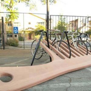 عکس - طراحی های جذاب و غیرمعمول پارکینگ دوچرخه های شهری