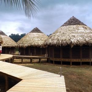 عکس - روستای توریستی Kipará Dé Embera اثر تیم طراحی Juan Pablo Dorado و Oficina Suramericana de ، کلمبیا