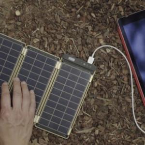 تصویر - کاغذ خورشیدی،نازک ترین شارژر جهان - معماری