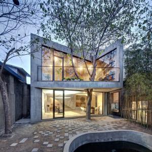 عکس - 20 نمونه موردی از ترکیب هوشمندانه ساختمان با درختان
