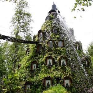 عکس - هتل شگفت انگیز Montana Magica در شیلی