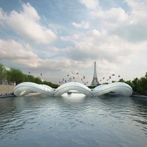 عکس - طراحی پلی عجیب در پاریس