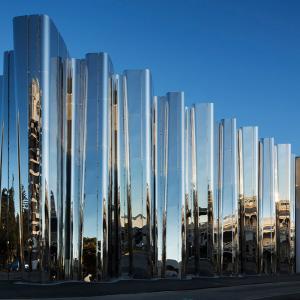 عکس - مرکز فرهنگی Len Lye اثر گروه طراحی Patterson در نیوزلند