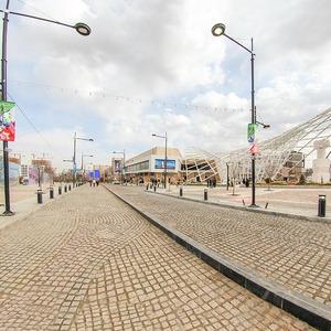 تصویر - بزرگترین خیابان تمام سنگ فرش جهان - معماری