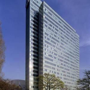 تصویر - ساختمان Dreischeibenhaus - معماری