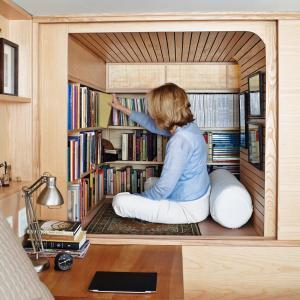 تصویر - 5 فضای مطالعه کوچک اما شگفت انگیز - معماری