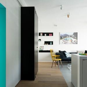 تصویر - بازسازی هوشمندانه یک آپارتمان - معماری