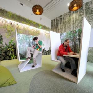 عکس - گوگل ،جذاب ترین دفتر کار جهان