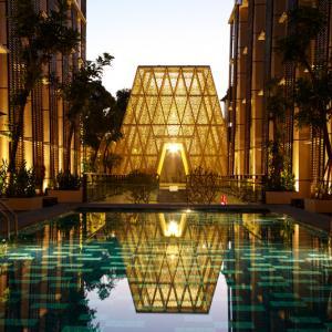 عکس - ورودی متفاوت هتلی در بالی