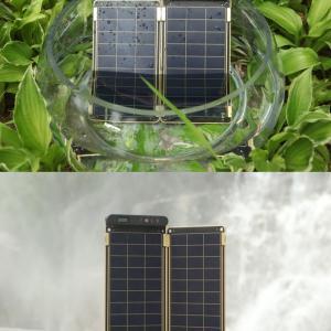 عکس - کاغذ خورشیدی،نازک ترین شارژر جهان