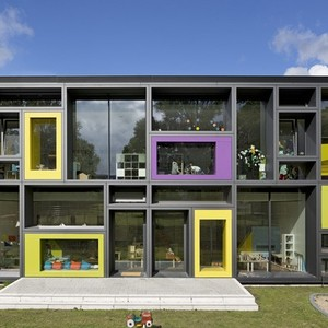 عکس - مرکز نگهداری از کودکان،اثر Kadawittfeldarchitektur ،آلمان