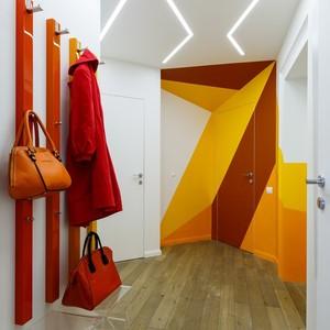 تصویر - یک آپارتمان زیبا و رنگارنگ در روسیه - معماری