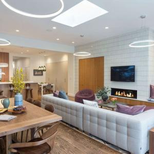 عکس - طراحی داخلی آپارتمانی در نیویورک اثر Ben Herzog و Kiki Dennis