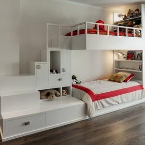 عکس - طراحی تخت خواب دو طبقه