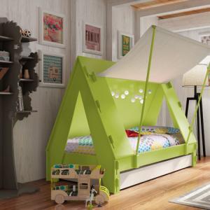 عکس - زندگی در کمپ و چادر را برای کودکانتان به ارمغان بیاورید.