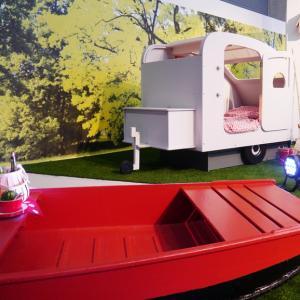 تصویر - زندگی در کمپ و چادر را برای کودکانتان به ارمغان بیاورید. - معماری